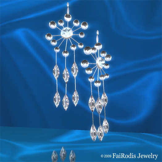 FaiRodis Winter Fairy earrings