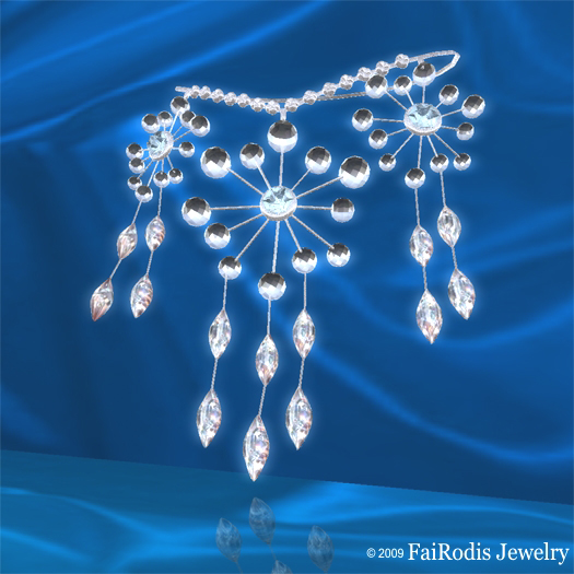 FaiRodis Winter Fairy Necklace