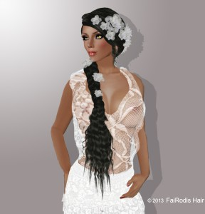 FaiRodis Tatiyana hair with decoration