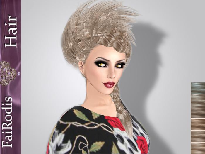 FaiRodis_Morgana_hair_light_blonde_poster