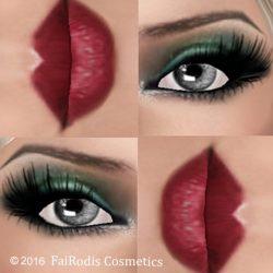 FaiRodis_green_light_makeup_with_gray_eyes_poster