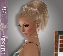 FaiRodis_Queen_of_amazonks_dark_blonde_plus_mocha_poster