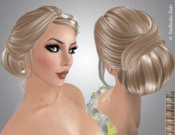 FaiRodis Miranda hair with diamond decoration light blonde2