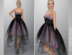 FaiRodis N3 dress pink black pack