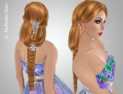 FaiRodis Julia flexi hair with diamond decoration