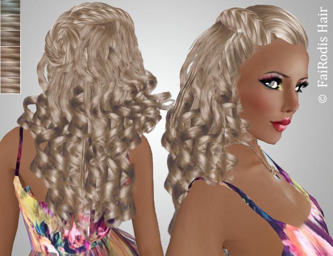 FaiRodis Silvia hair light blonde2 pack