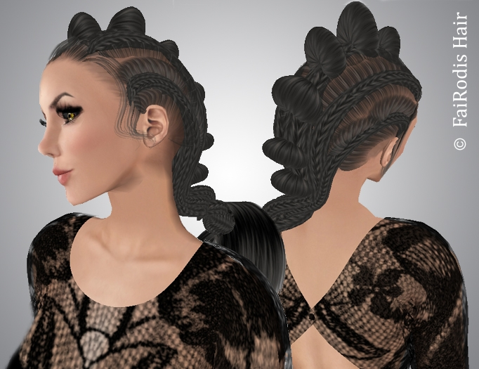 FaiRodis Ramonta hair black