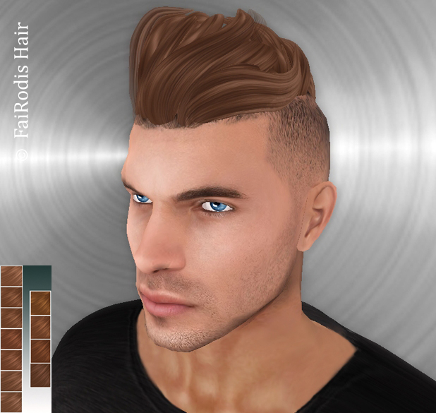 FaiRodis Artur hair dark blonde plus mocha