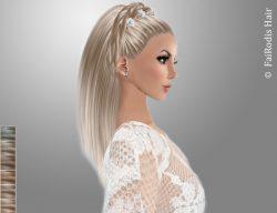 FaiRodis Freya hair light blonde2+decoration pack