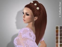 FaiRodis Freya hair light shaten +decoration pack