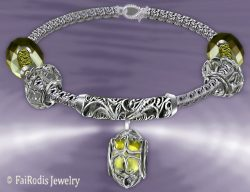 FaiRodis wind of passion bracelet citrine