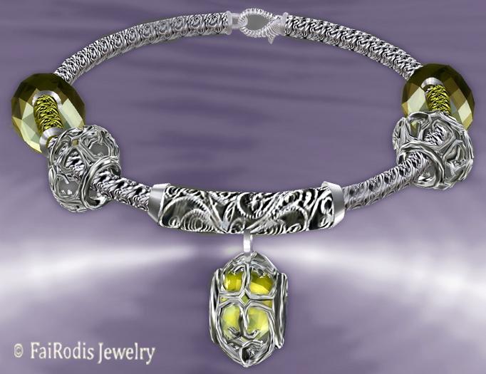 FaiRodis wind of passion bracelet citrine