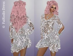 FaiRodis Melanie mesh dress