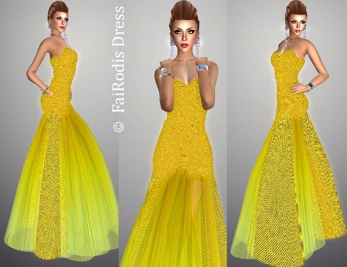 FaiRodis Sun Queen fitmesh dress pack