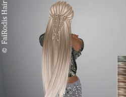FaiRodis Selena hair light blonde2 pack