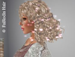 FaiRodis Idina hair light blonde2+glitter spray_m_pack