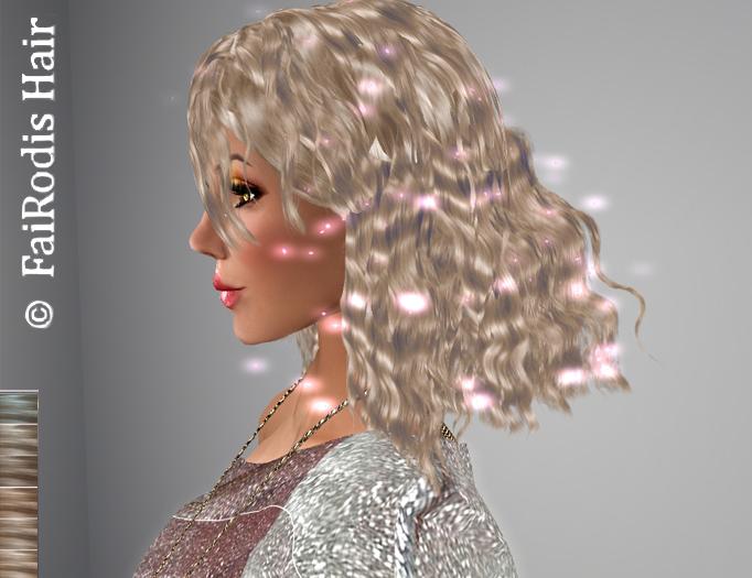 FaiRodis Idina hair light blonde2+glitter spray_m_pack