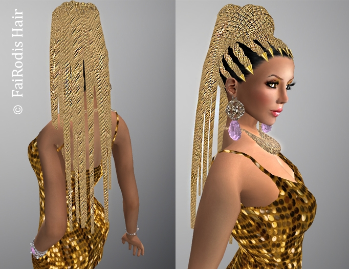 FaiRodis Golden princess hair pack