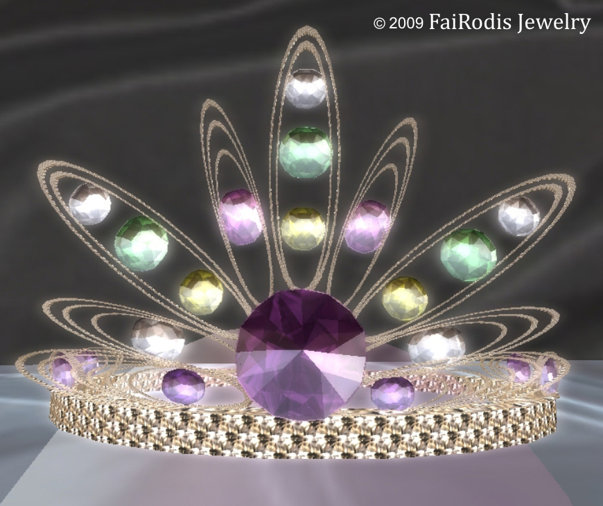 Beauty Spring Tiara (Click on picture to buy on SL MarketPlace)