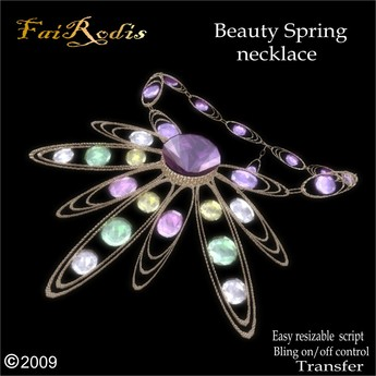 Beauty Spring necklace (Click on picture to buy on SL MarketPlace)