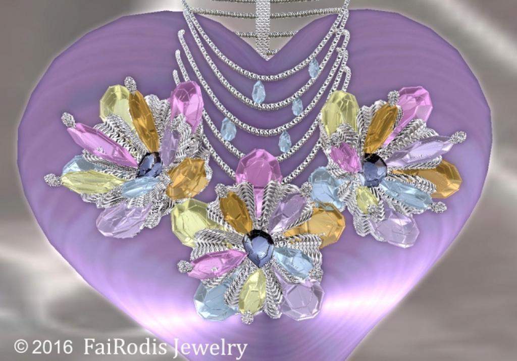 FaiRodis Dream Gardens necklace
