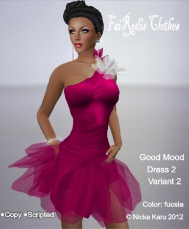 FaiRodis Good Mood dress fucsia 2