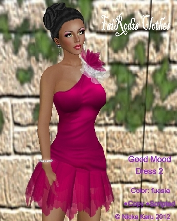 FaiRodis Good Mood dress 2 (Click on picture to buy on SL MarketPlace)