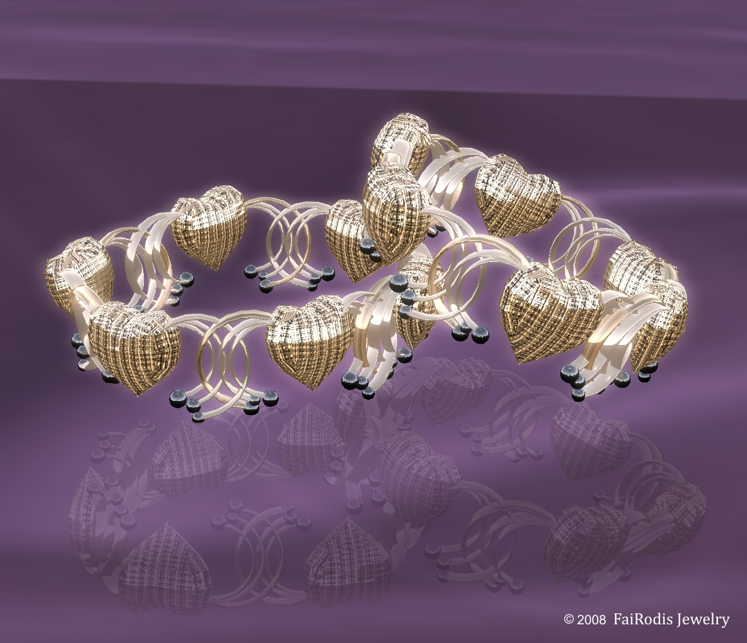 Heart of Magic Bracelets (Click on picture to buy on SL MarketPlace)