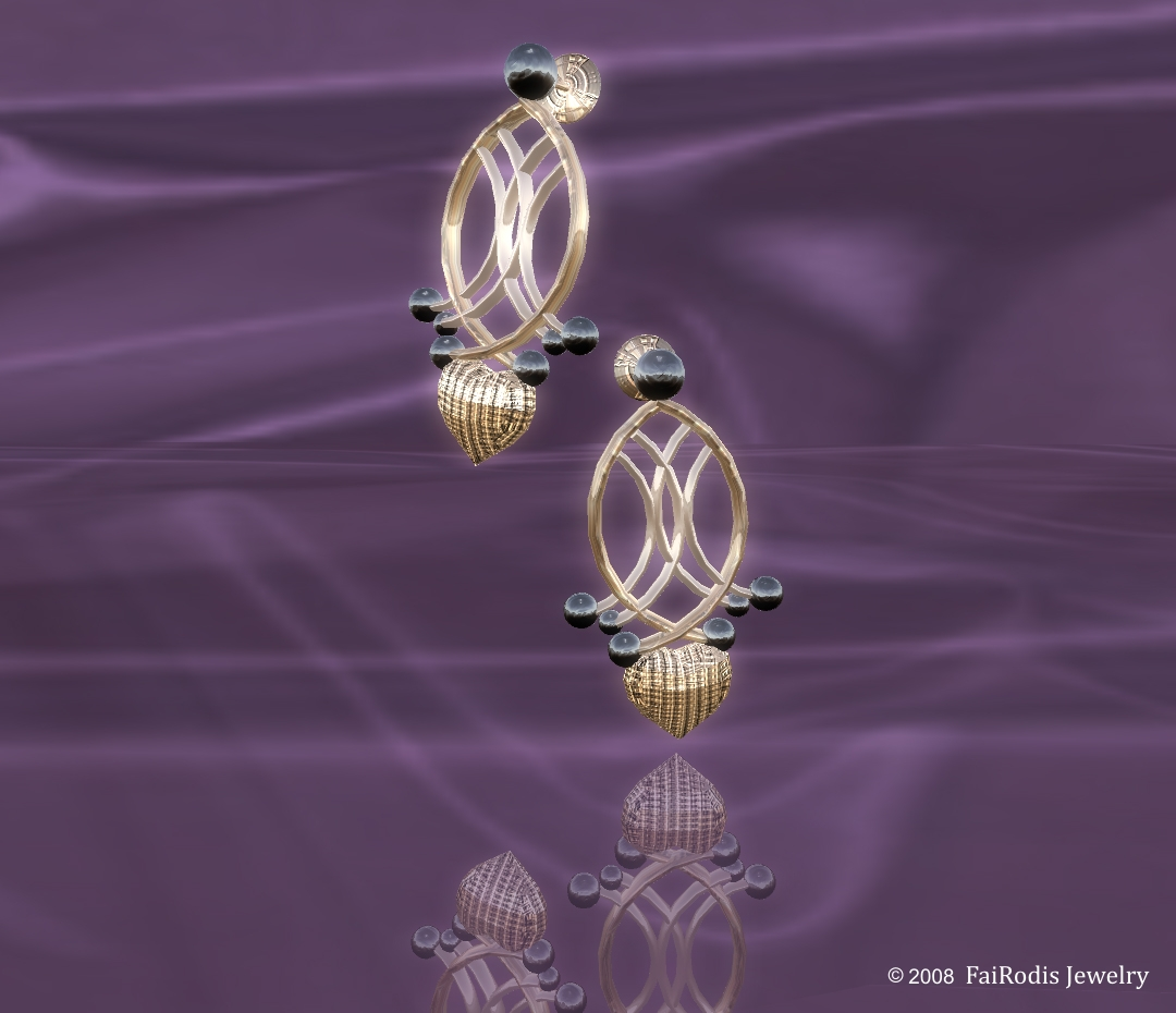 Heart of Magic Earings (Click on picture to buy on SL MarketPlace)