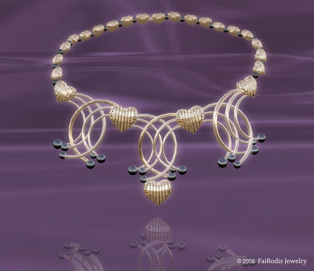 Heart of Magic Neclklace (Click on picture to buy on SL MarketPlace)