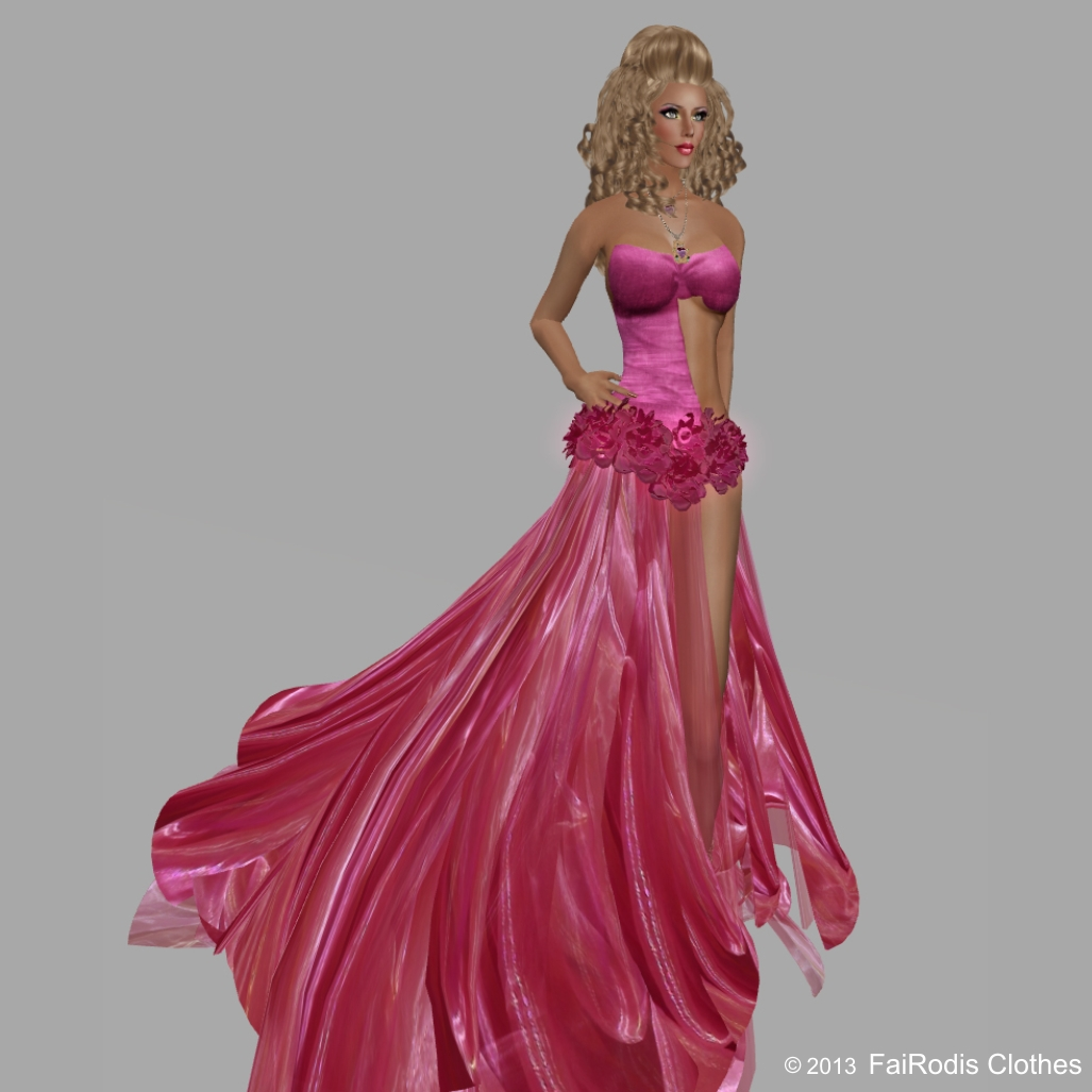 FaiRodis Rose under the rain gown