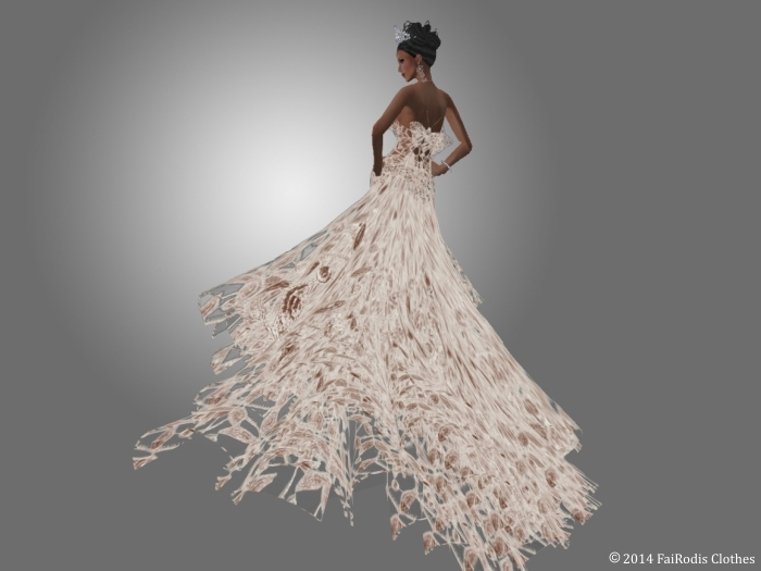Symphony of Love gown (Back)