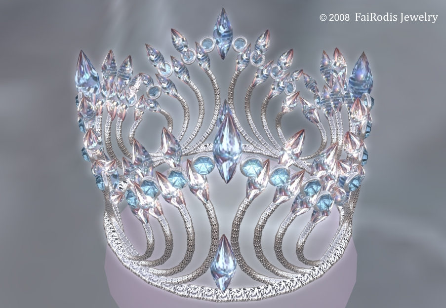 Winter Fairy Crown (Click on picture to buy on SL MarketPlace)