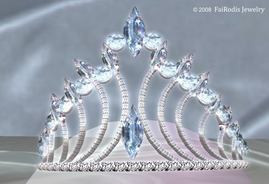 Winter Fairy Tiara. (Click on picture to buy on SL MarketPlace)