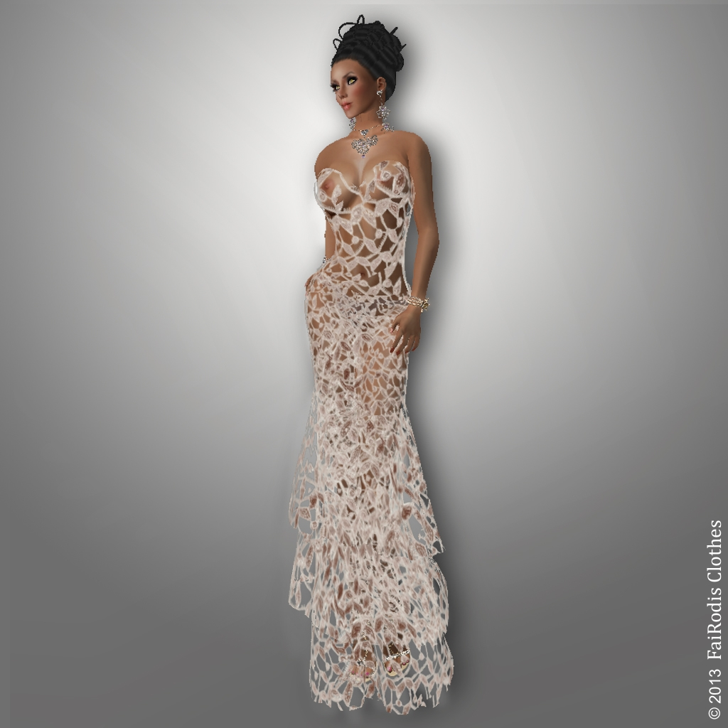 Winter Symphony gown