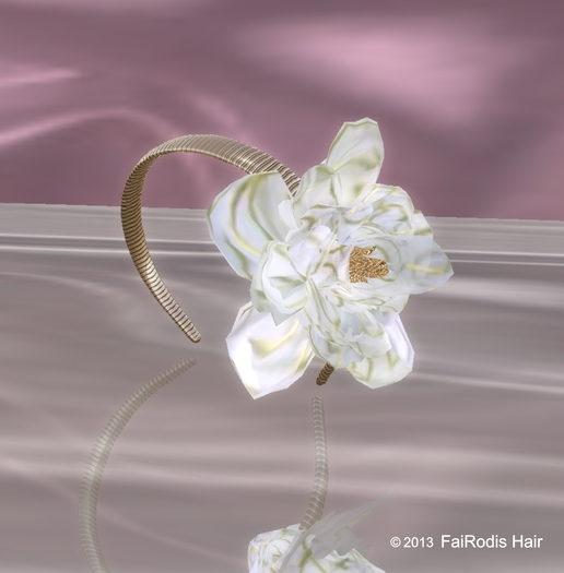 FaiRodis Flower diadem white
