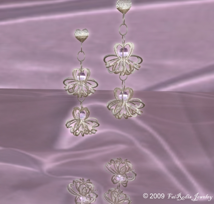 FaiRodis Symphony of Love earings (Click on picture to buy on SL MarketPlace)