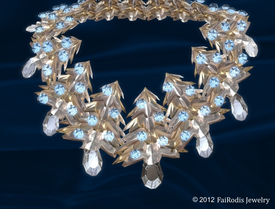 winter fairy tale necklace (Click on picture to buy on SL MarketPlace)